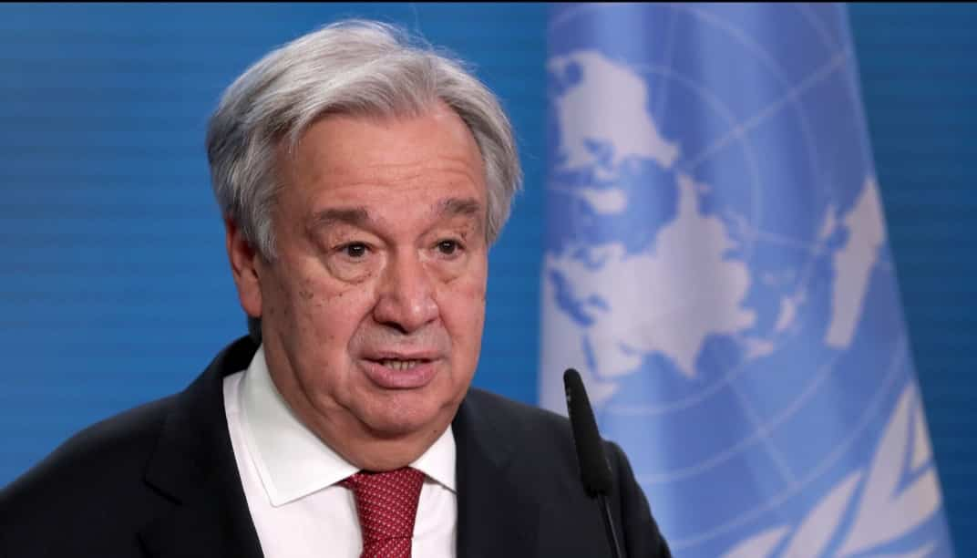 UN Secretary appeal rich nations to support poor countries in the purchase of coronavirus vaccines