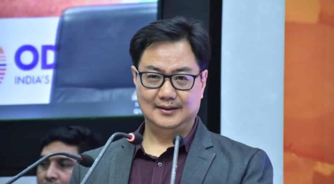 Kiren Rijiju assigned additional charge of Ministry of AYUSH
