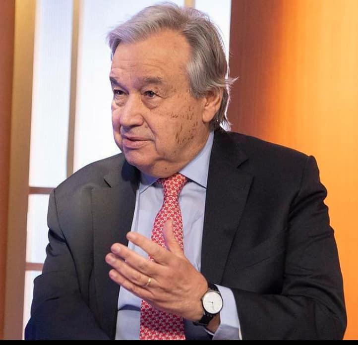 unchif Antonio Guterres