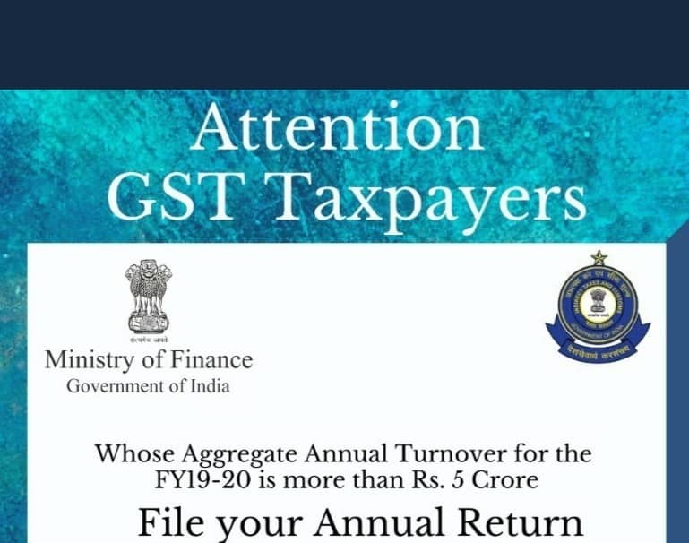 Annual Return along with Reconciliation statement GSTR-9C
