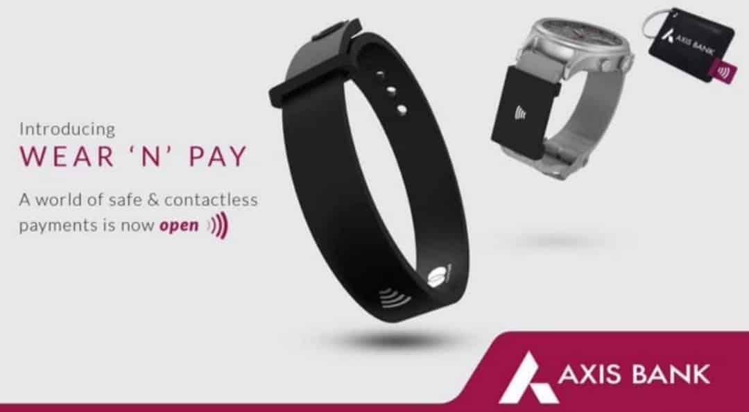 axis bank wear n pay