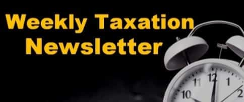 weekly taxation newsletter - TC VIP PLAN