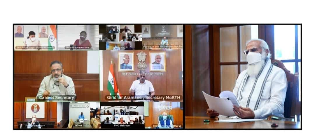 oxygen supply and availability MEETING WITH PM