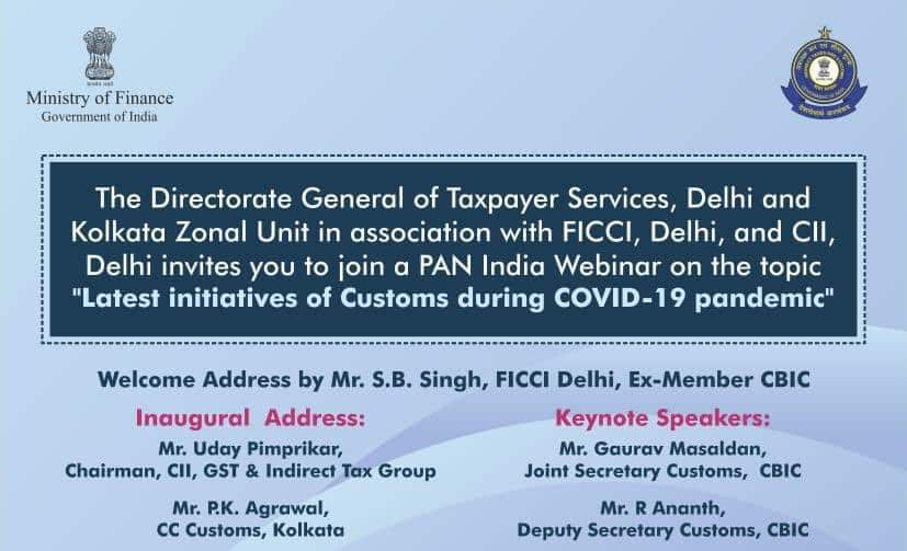 DIRECTOR GENERAL OF TAXPAYER SERVICES WEBINAR