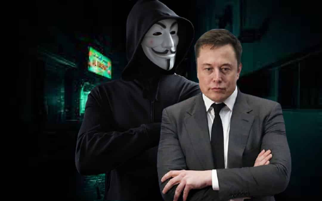 ANONYMOUS AND ELON MUSK