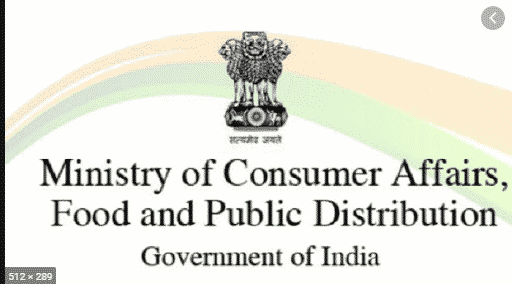 Ministry of Consumer Affairs, Food and Public Distribution
