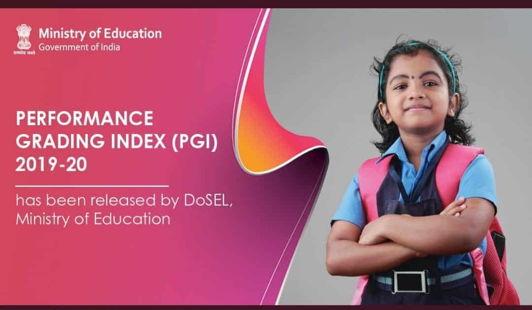Approved the release of Performance Grading Index 2019-20 which is designed to catalyse transformational change in the field of school education.