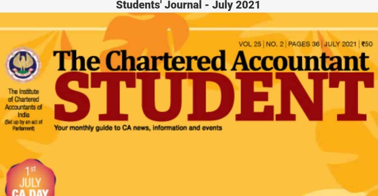 Students' Journal - July 2021