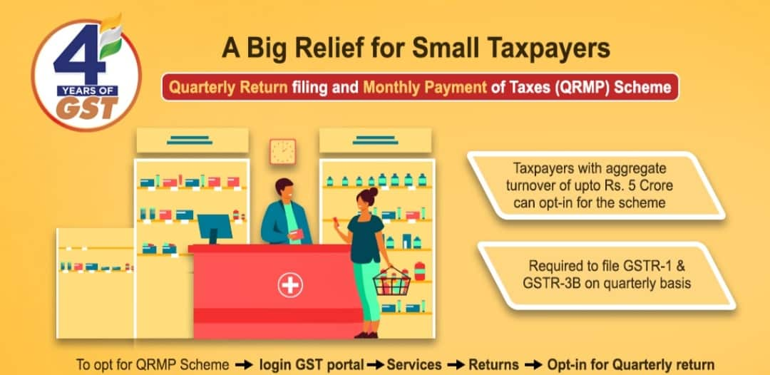 Relief of small taxpayers in GST