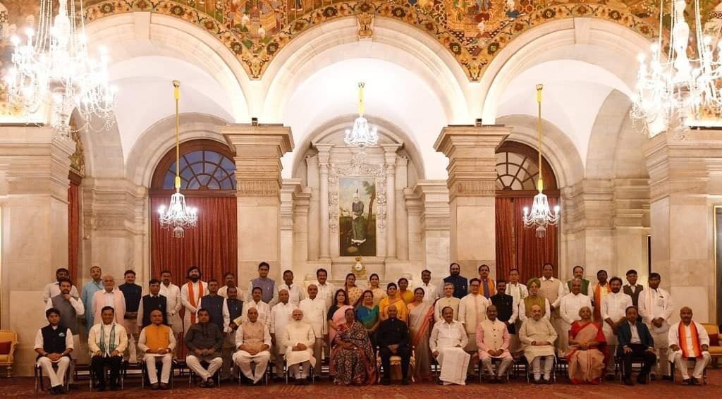 NEW MINISTERS OF INDIA 2021